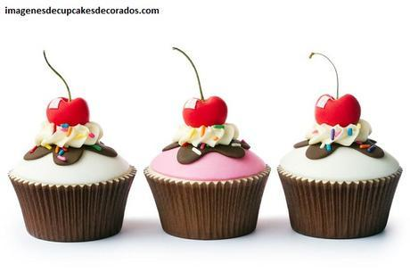 imagenes de cupcakes de fondant cumpleaños