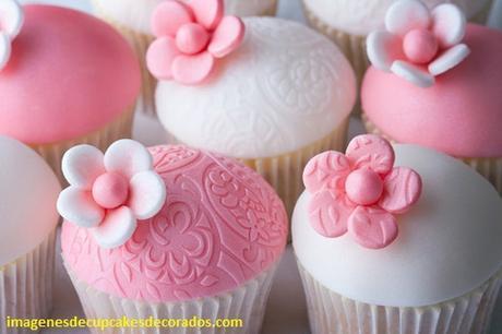 imagenes de cupcakes de fondant decorar