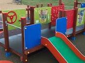 Benidorm niños. Parques zonas juegos accesibles inclusivas.