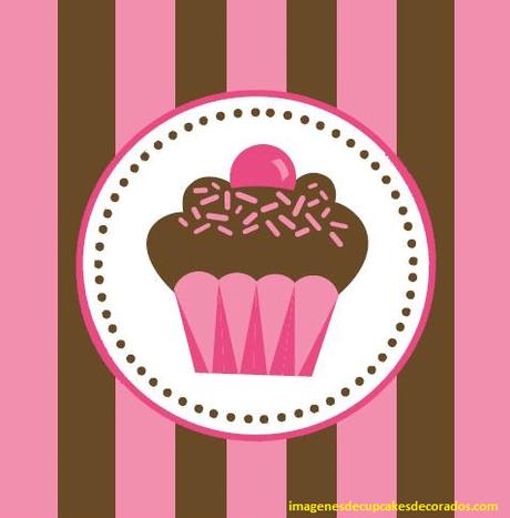imagenes de logos de cupcakes  imprimir