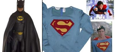 Salen a subasta los trajes de Batman y Superman