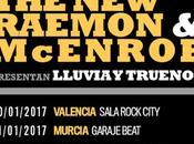 "Raemon McEnroe presentan Madrid, Murcia Valencia ""Lluvia Truenos"""