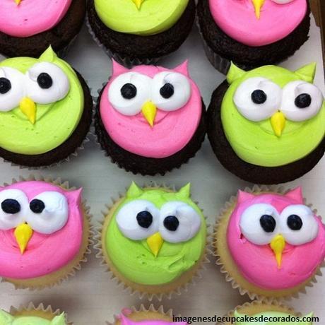 cupcakes decorados para niñas ideas