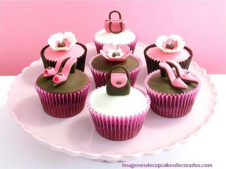 cupcakes decorados para niñas infantiles