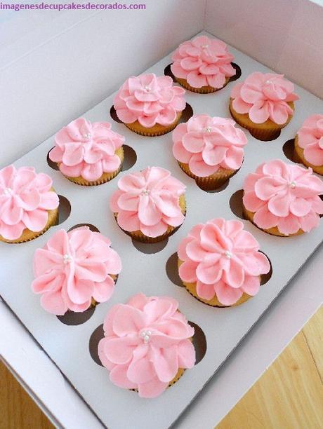 cupcakes decorados para niñas recetas