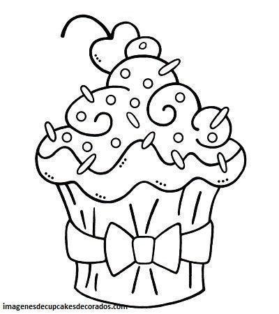 imagenes de dibujos de cupcakes dibujos