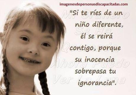 Fotos Con Frases Para Un Hijo Con Discapacidad Para Reflexionar
