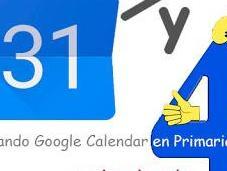 Actividades diferentes aula Google Calendar