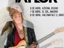 blues rock Joanne Shaw Taylor, abril Bilbao, Madrid Barcelona