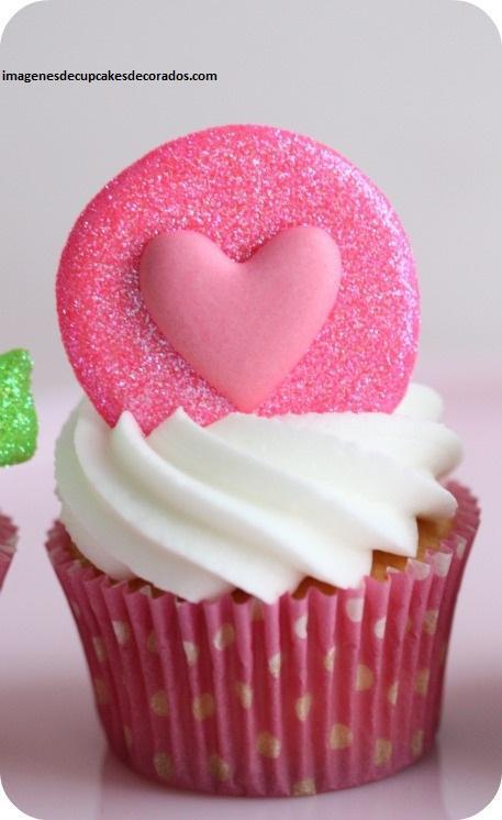 imagenes de cupcakes de san valentin enamorados