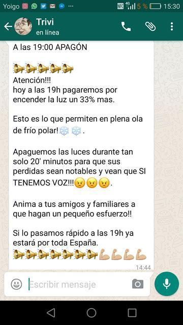 LAS SUBIDAS INHUMANAS DE LAS ELÉCTRICAS, EN PLENA HOLA DE FRÍO, VERGONZOSO, A LA BARCELONA D' ABANS, D' AVUI I DE SEMPRE...19-01-2017...!!!.