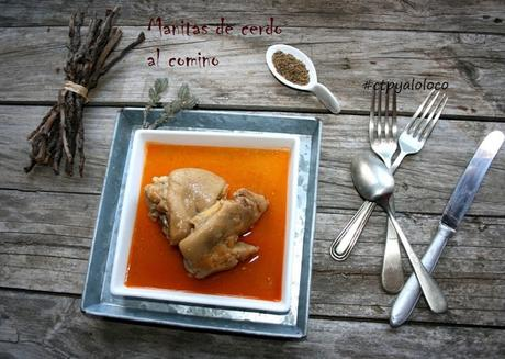 Manitas de cerdo al comino paperblog for Cocinar manitas de cerdo
