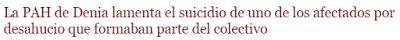 Lo suicidios por desahucios de CaixaBank
