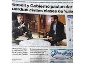 Enseñar valenciano Guardias Civiles.