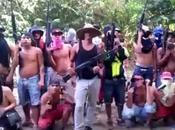 """Tren llano"""" (súbditos Picure"""") amenazan aterrador video #Venezuela #Delicuencia"""