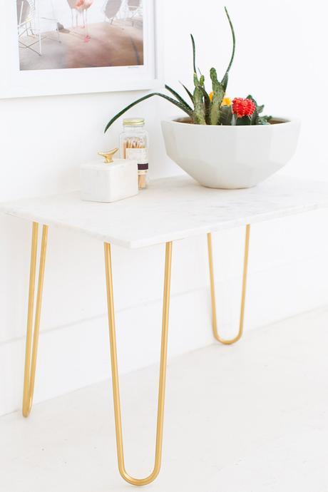 C mo hacer una mesa auxiliar de m rmol paperblog for Como hacer marmol
