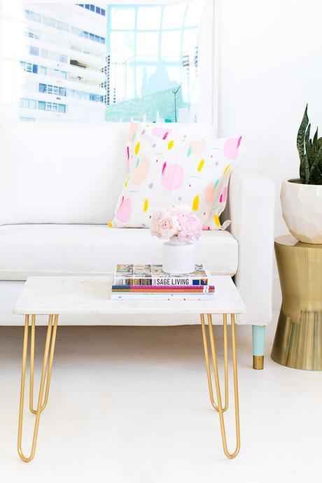 C mo hacer una mesa auxiliar de m rmol paperblog for Como se hace el marmol
