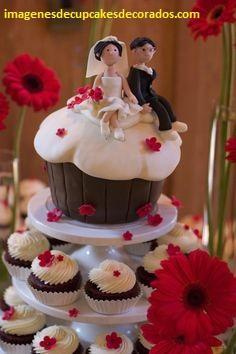 cupcakes para bodas originales sencillos
