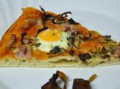 Pizza camagrocs huevos codorniz