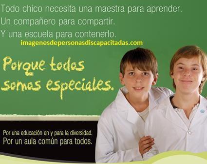 frases sobre la educacion especial inclusion