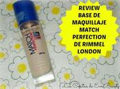 Review Base maquillaje Match Perfection Rimmel London