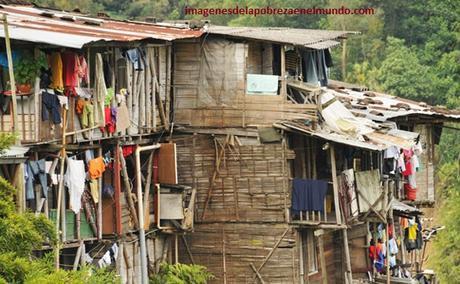 imagenes de pobreza en colombia casas