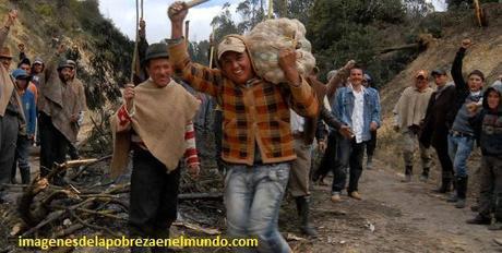 imagenes de pobreza en colombia humildes