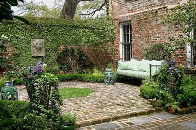 Patios estilo rustico paperblog for Jardines rusticos campestres