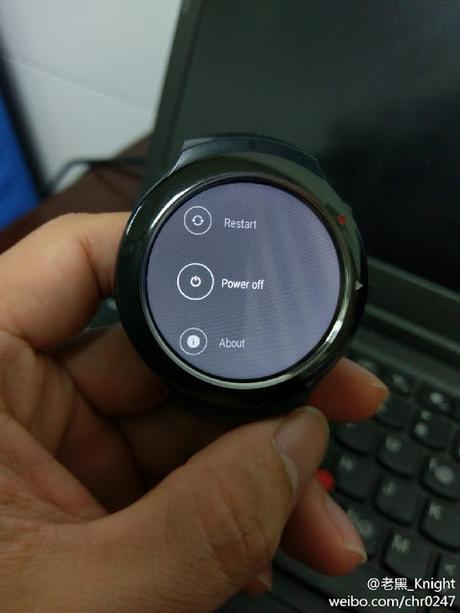 Se filtran fotos del primer reloj con Android Wear de HTC