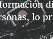 Transformación digital: personas, primero.