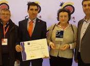 Almagro: premio mejor destino 2016 dentro sistema SINTEC. Nuestra socia, Araceli Monescillo, gestora.