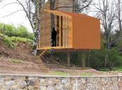 Casas árbol: casa sobre robles