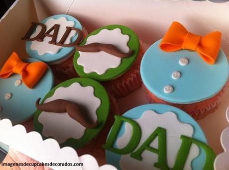 modelos de cupcakes para hombres papa
