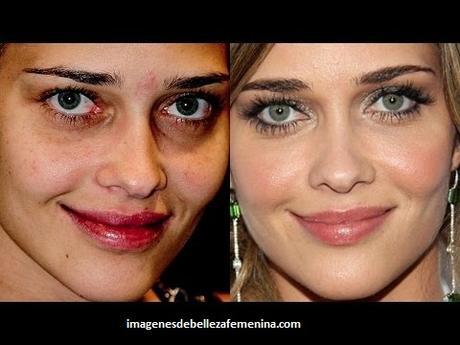 fotos de modelos maquilladas fiestas