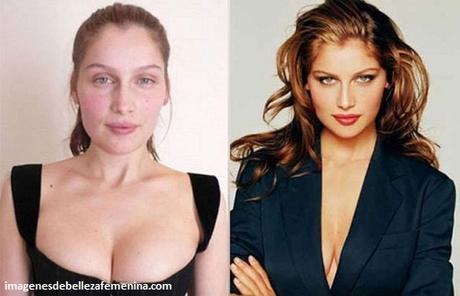 fotos de modelos maquilladas profesionales