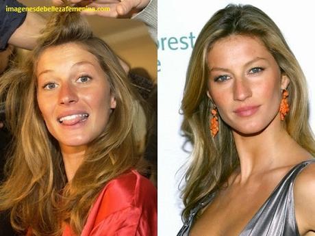 fotos de modelos maquilladas despues