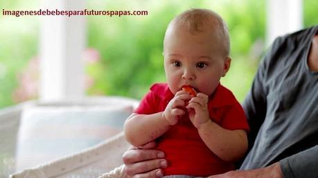 imagenes de un bebe para su papa tiernas