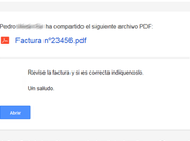 Campaña phishing intenta suplantar Google