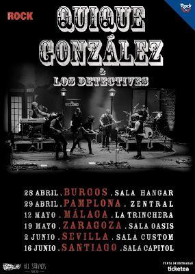 Quique gonz lez anuncia nuevos conciertos para 2017 for Sala trinchera
