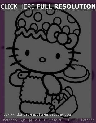Dibujos Animados Para Dibujar De Hello Kitty Paperblog