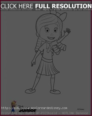 Goldie Y Osito Para Colorear Disney Junior Paperblog