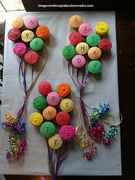 decoracion de quequitos para cumpleaños niños