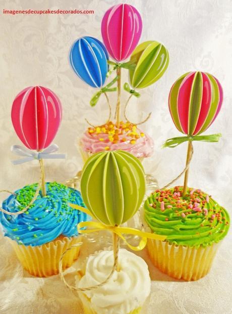 decoracion de quequitos para cumpleaños niña