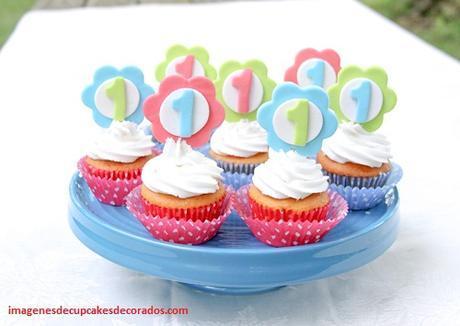 decoracion de quequitos para cumpleaños infantiles