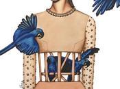 Irene Álvarez, ilustradora diseño moda