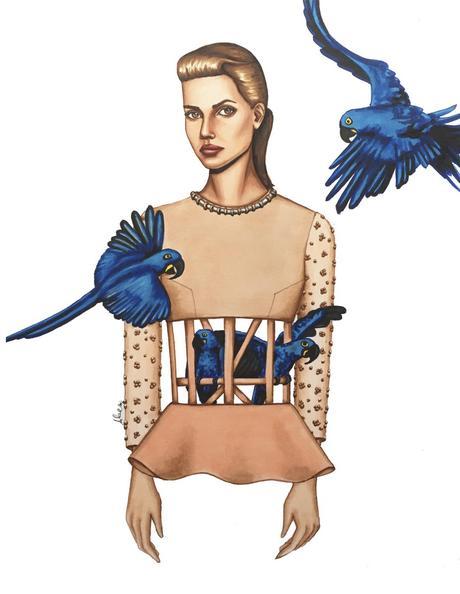 Irene Álvarez, ilustradora y diseño de moda