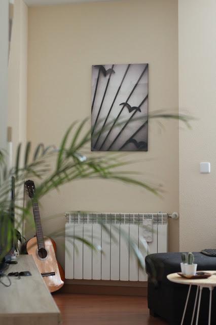 Decorando el salón con mis fotos y Saal Digital