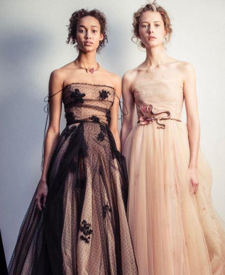 La belleza mágica del maquillaje Dior Haute Couture SS2017