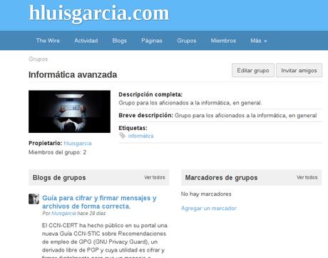 Red social hluisgarcia.com