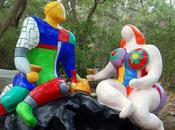 jardín tarot, parque güell toscana